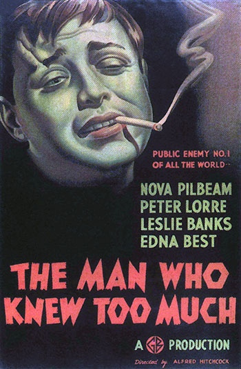 The Man Who Knew Too Much (British)