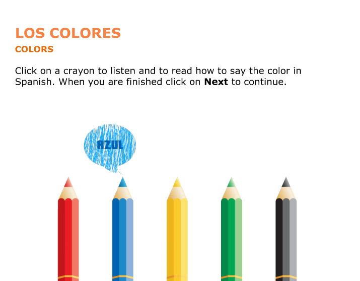 <b>Learn Basic Spanish: Los Colores</b>