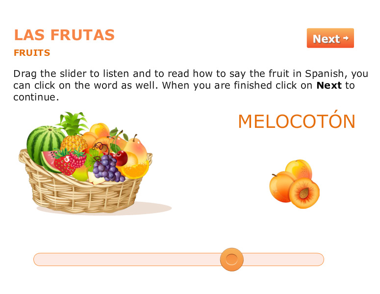<b>Learn Basic Spanish: Las Frutas</b>